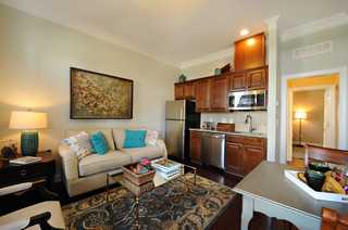 The Salter Ii Traditional Living Room Raleigh By