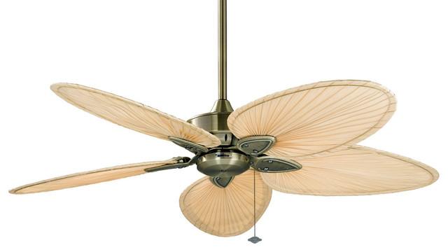 Windpointe Indoor Ceiling Fans, Antique Brass.