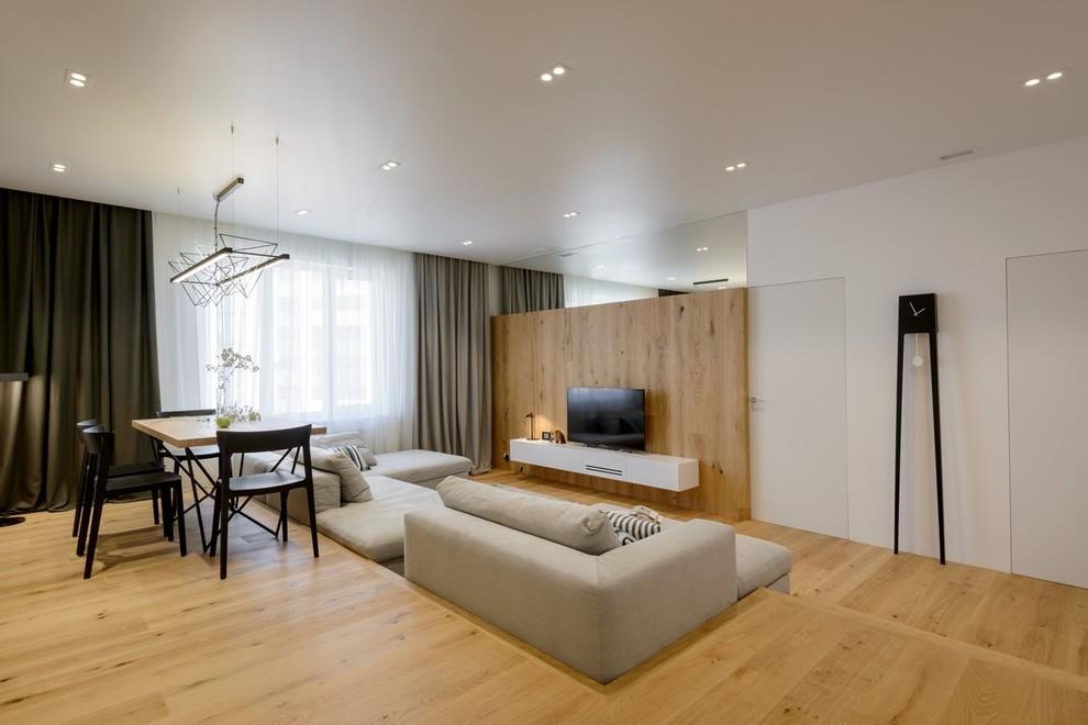 Квартира с открытой гостиной