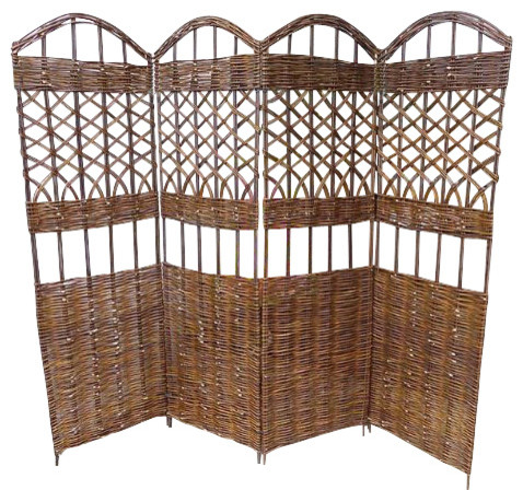 Willow Screen, 4 Panel Divider, ...
