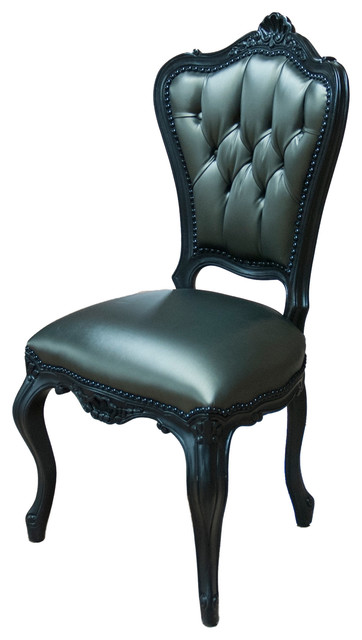 Merveilleux French Victorian Style Dinning Side Chair