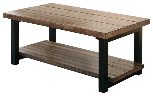 Coaster Scott Living Rustic Brown Coffee Table Tables By Fine Furniture