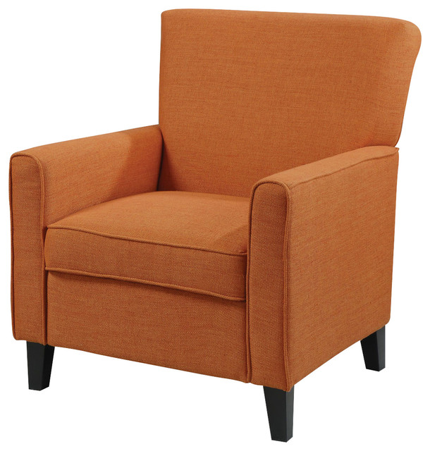 Admirable Coaster Orange Accent Chair With Contemporary Furniture Style Pdpeps Interior Chair Design Pdpepsorg