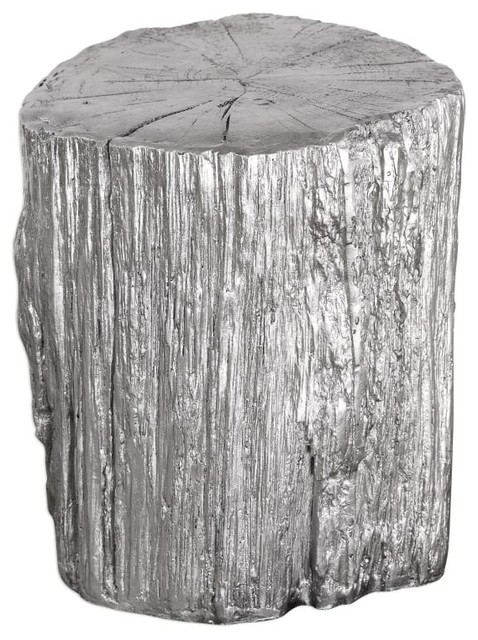 Uttermost 24663 Cambium Ceramic Accent Table Contemporary Side Tables And  End