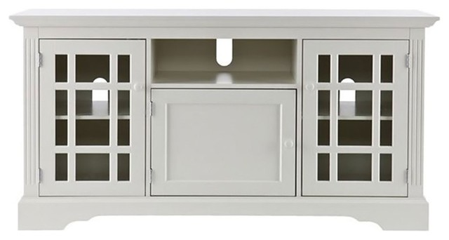 Southern Enterprises Cullerton Tv/media Stand, Off White.