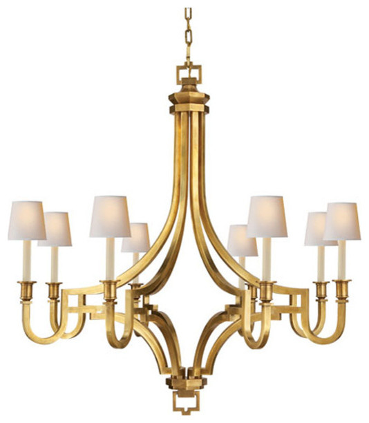 E F Chapman Mykonos 8 Light Chandelier Transitional Chandeliers By Benjamin Rugs And Furniture