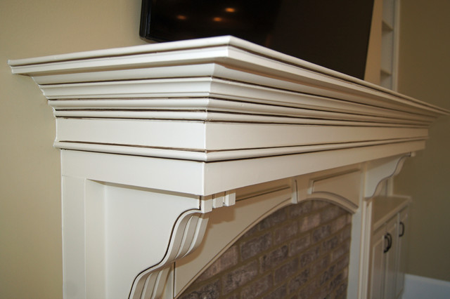 Bookcases And Fireplace Mantels Traditional Atlanta