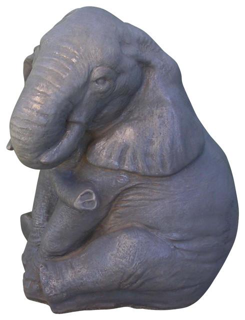 Elephant Garden Statue Asian Garden Statues And Yard Art
