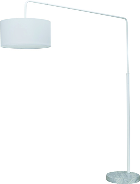 Raku Floor Lighting, White.