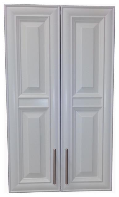 "Edison 47"" 2-Door Recessed Frameless Medicine Cabinet, 3.5 ..."