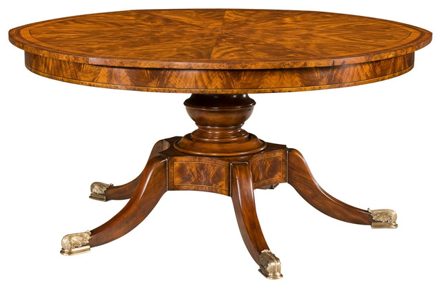 Theodore Alexander Althorp Living History The Althorp Patent Jupe Table  Bistro Victorian Dining Tables