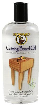 Howard Cutting Board and Butcher Block Oil 12oz