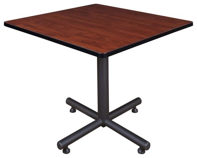 """Kobe 36"""" Square Breakroom Table, Cherry"""
