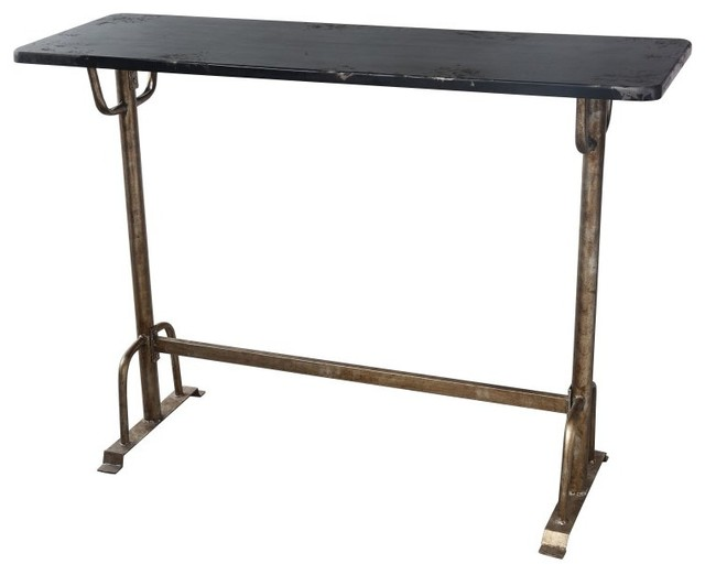 Sturdy Bar Table Industrial Indoor Pub And Bistro Tables