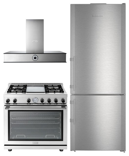 3 Piece Apartment Size Kitchen Appliances Package With Cbs1660 30 Bottom Freeze Contemporary Major Kitchen Appliances By Appliances Connection