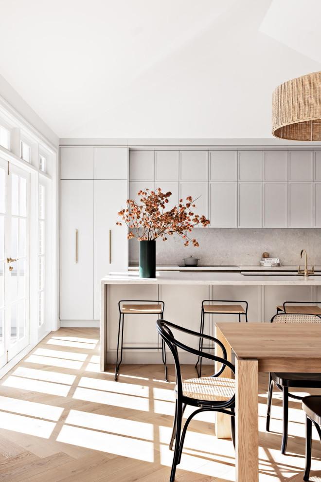 Trendy home design photo in Sydney