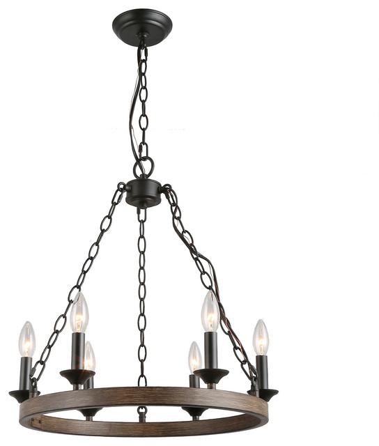 Lnc 6 Light Chandelier Pendant Lights