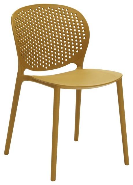 Spot Dining Chair, Mustard