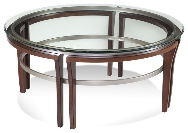 Fusion Round Cocktail Table.