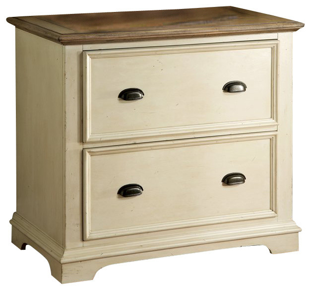 Riverside Furniture Coventry Lateral File Cabinet in Dover White farmhouse- filing-cabinets - Shop Houzz Riverside Furniture Riverside Furniture Coventry