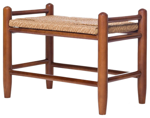 Spencer Fireside Bench, Medium Oak