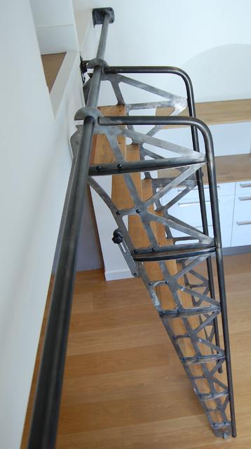 escalier escamotable industriel angers par lebot fran ois. Black Bedroom Furniture Sets. Home Design Ideas