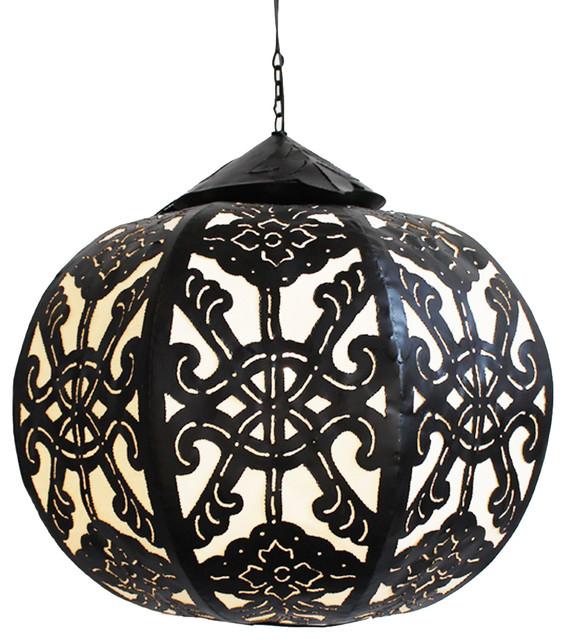 Metal Work Globe Lantern