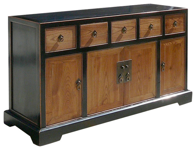 Chinese Ming Style TV Stand Traditional Entertainment Centers And Tv
