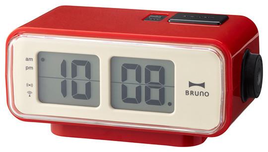 retro digital flip clock contemporary alarm clocks. Black Bedroom Furniture Sets. Home Design Ideas