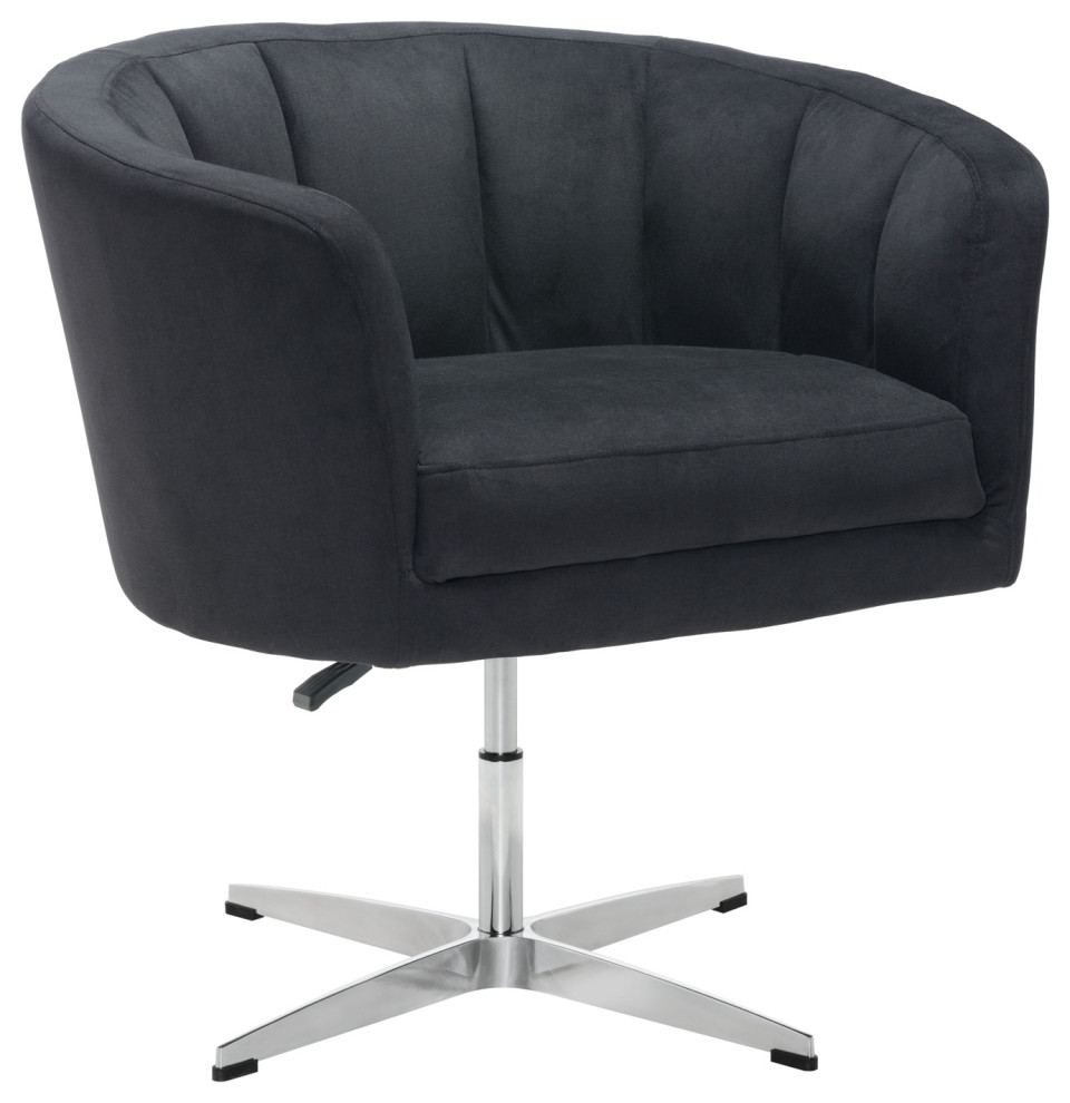 Modern Tufted Accent Chair Height Adjustable Contemporary Armchairs And Accent Chairs By Plush Pod Decor