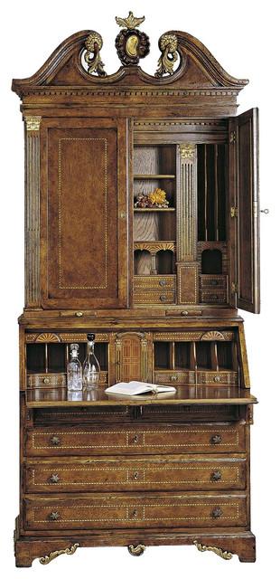 Trumeau Oak Bureau