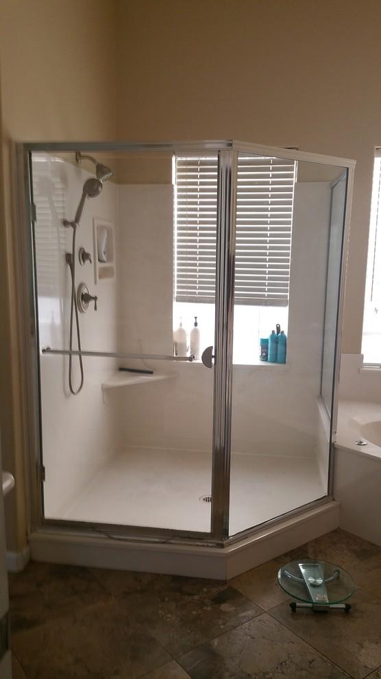 Glam bathroom remodel