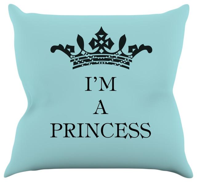 Louise Machado Im A Princess Throw Pillow Contemporary Fascinating Princess Decorative Pillows