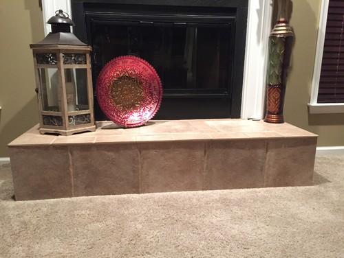 Quartz Fireplace Hearth?