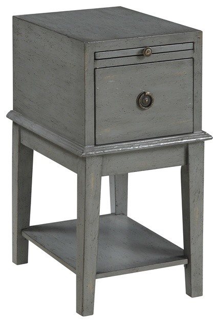 Coast To Coast 70804 One Drawer Chairside Chest.