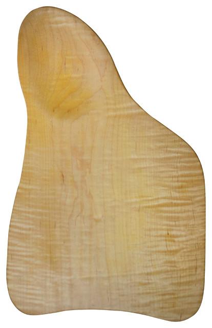 handmade tiger maple wood cutting board no.   rustic  cutting, Kitchen design
