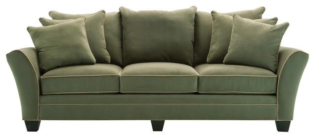 Incroyable Briarwood Microfiber Sofa