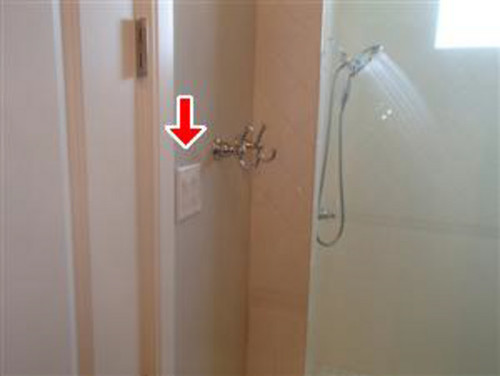 Does The Light Switch In Bathroom Need To Be On A GFCI?