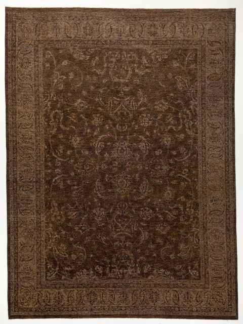 chobi ziegler oriental rug with borders dark grey and greyblack 9x121 traditional