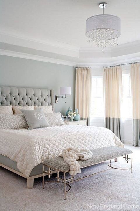 . Elegant bedrooms colors schemes