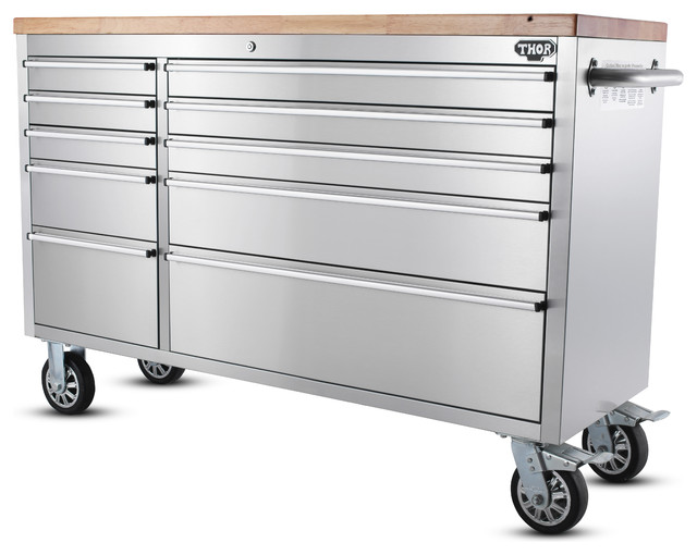 "55 "" Thor Tool Chest Storage Cabinet - HTC5510W - Modern - Garage And Tool Storage - by Royal ..."