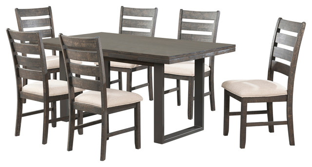 Finale 7-Piece Dining Table Set.