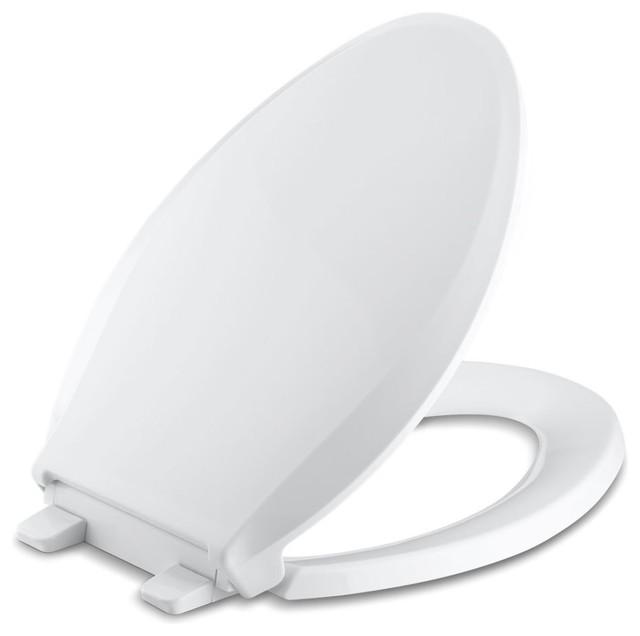 Kohler Cachet Quiet-Close With Grip-Tight Elongated Toilet Seat