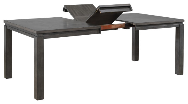 Sunset Trading Shades of Gray Extendable Dining Table