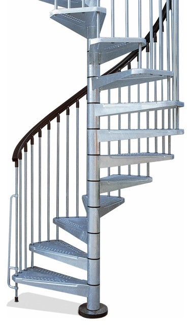 Arke 47 Enduro Outdoor Spiral Staircase Kits Stair Parts By The Stairway