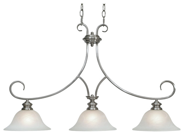 pictures of kitchen light fixtures lancaster island light pewter traditional kitchen 7466