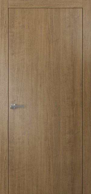 Genial Interior Modern Wood Door Smoky Walnut, No Pre Drilled,, ...