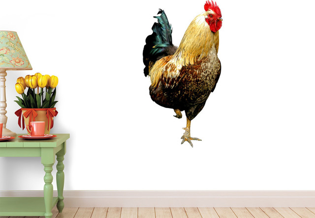 Wallmonkeys Wall Decals Colorful Rooster Wall Decal 18