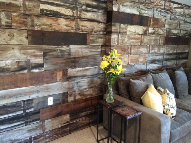 The Haskins Ship Lap Wall Modern Austin by Old