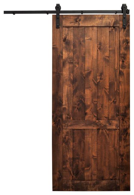 Barn door wood country vintage 48 x96 with hardware for 48 inch barn door